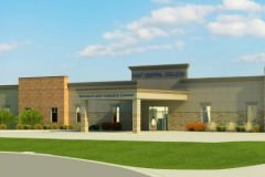 rendering of East Central College's Business and Industry Center