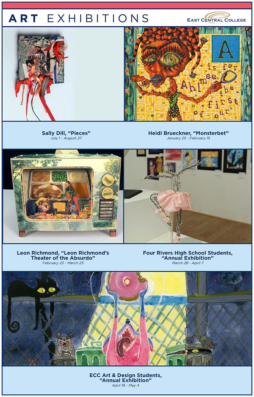 Art Gallery 2021-22 Schedule