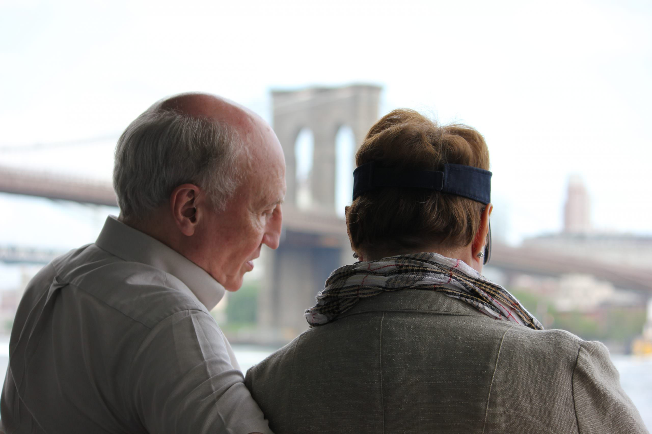 An Afternoon at the Brooklyn Bridge by David Kelch